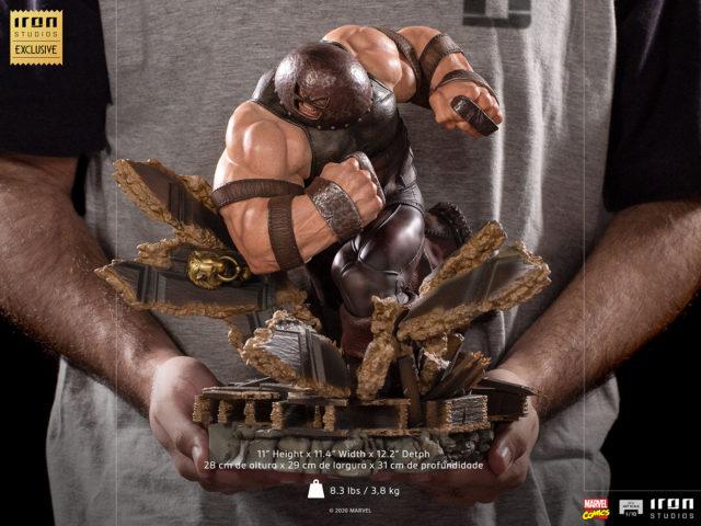Iron Studios Juggernaut Size Scale Photo