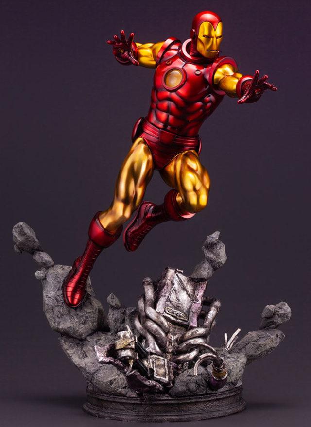 Koto Fine Art Iron Man Resin Statue