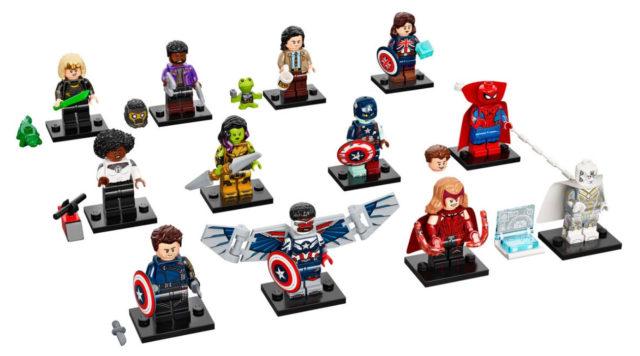 LEGO Marvel Minifigures 71031 Figures