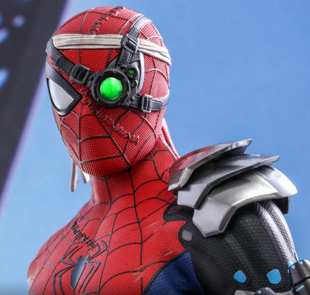 Light-Up Eye on Hot Toys Spider-Man Cyborg Figure