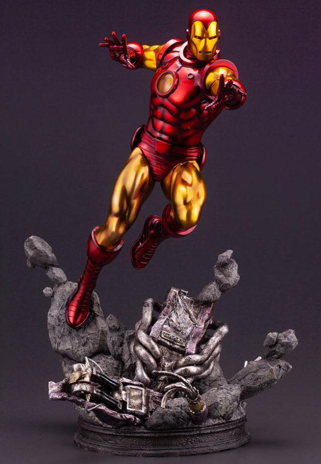 Marvel Comics Avengers Fine Art Statue Iron Man Kotobukiya