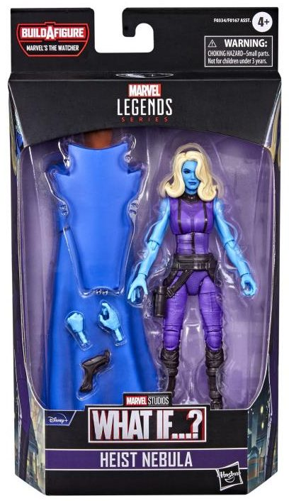 Marvel Legends Heist Nebula What If Figure Packages