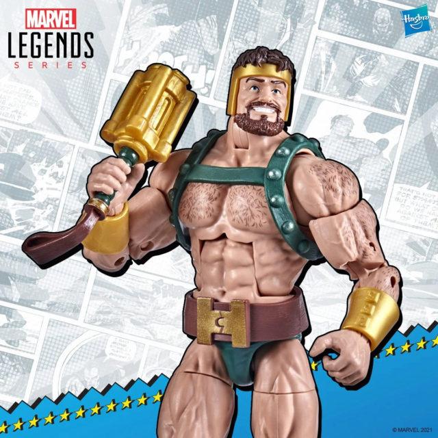 Marvel Legends Hercules Retro Series Figure Hasbro 2021 Champions