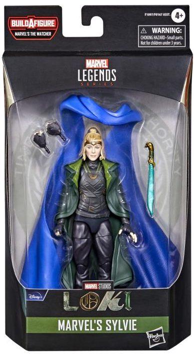Marvel Legends Loki Sylvie Figure Packaged