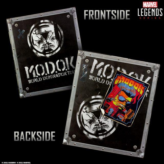 Marvel Legends MODOK World Domination Tour Box Packaging