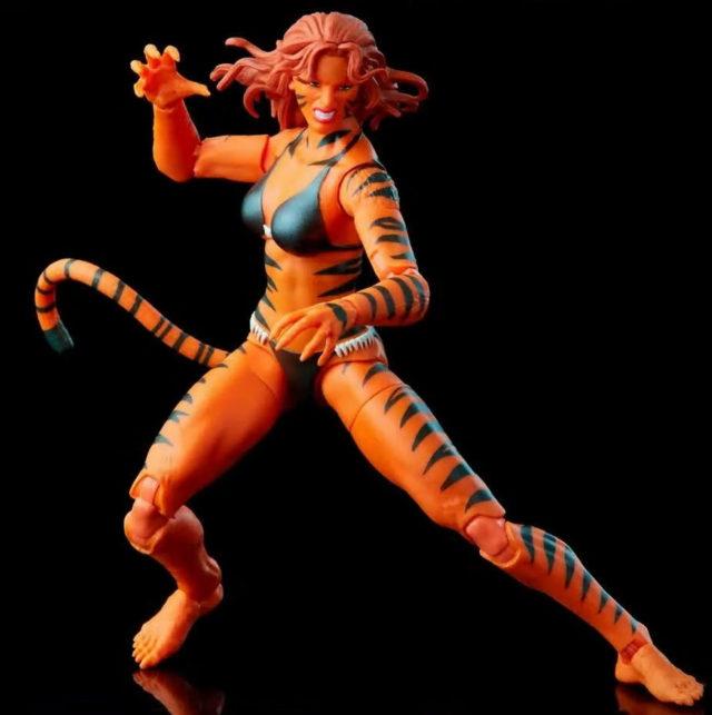 Marvel Legends Retro Tigra Figure Vintage Series Hasbro 2021