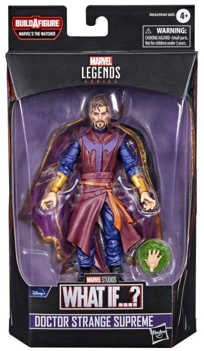 Marvel Legends What If Doctor Strange Supreme Figure Package