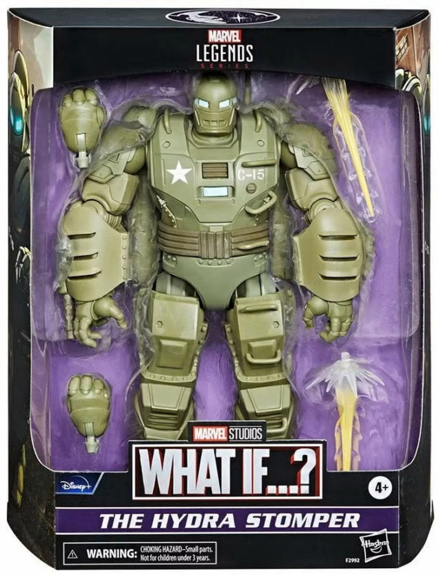 Marvel Legends What If Hydra Stomper Figure Packaged Deluxe