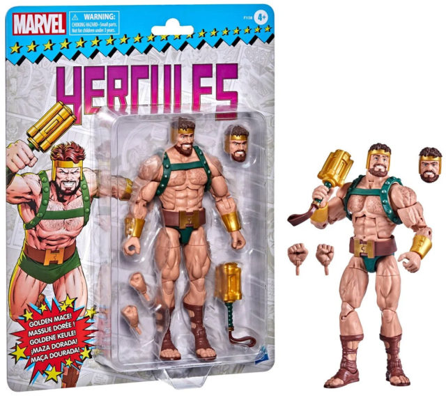 Retro Marvel Legends Hercules Toybiz Vintage Series Figure