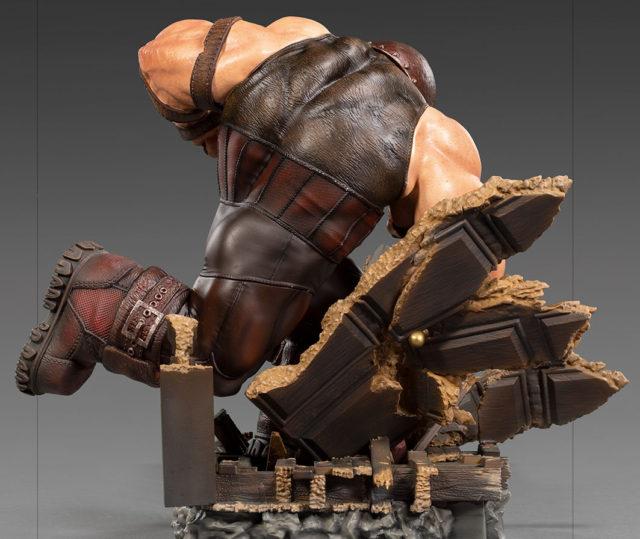 Side View of Juggernaut Battle Diorama Series Statue