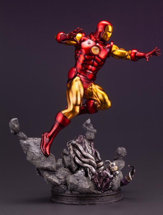 Side View of Koto Iron Man Fine Art Statue