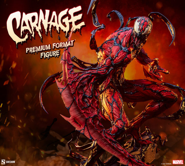 Sideshow Carnage Premium Format Figure 2021 Coming Soon