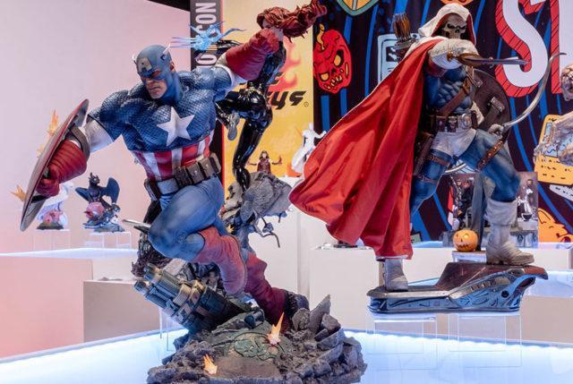 Sideshow Con 2021 Captain America Premium Format Figure