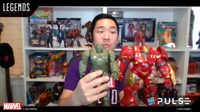 Size Comparison Marvel Legends Hulkbuster Iron Man and What If Hydra Stomper Figure