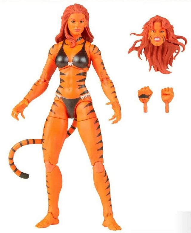 Tigra Marvel Legends Figure and Accessories