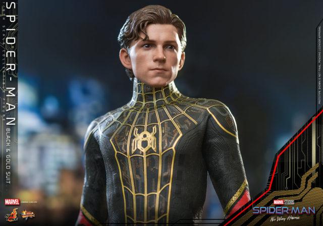 Tom Holland Spider-Man No Way Home Hot Toys Figure Head Sculpt
