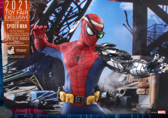 Toy Fair Exclusive 2021 Hot Toys Cyborg Spider-Man One Sixth Figure