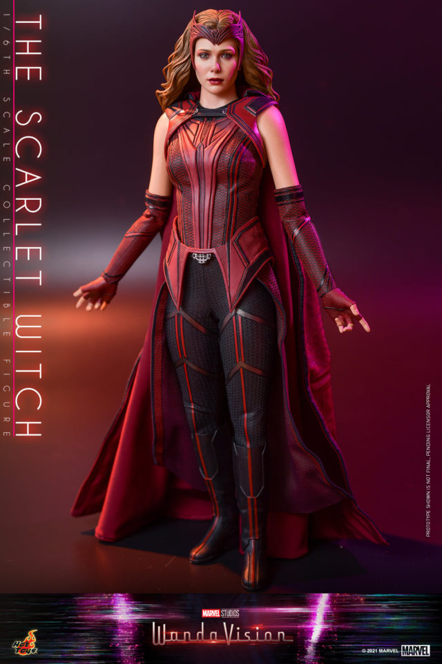 WandaVision Hot Toys Scarlet Witch Figure with new Head Likeness