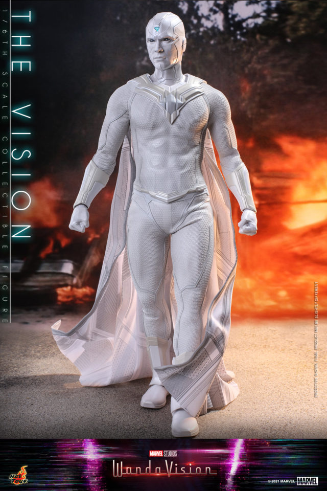 WandaVision Hot Toys The Vision White Figure