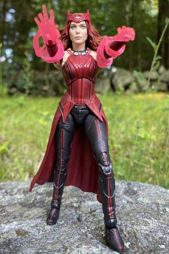 Hasbro Scarlet Witch Marvel Legends WandVision Figure Hands