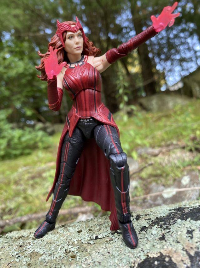 Marvel Legends WandaVision Scarlet Witch Figure Review