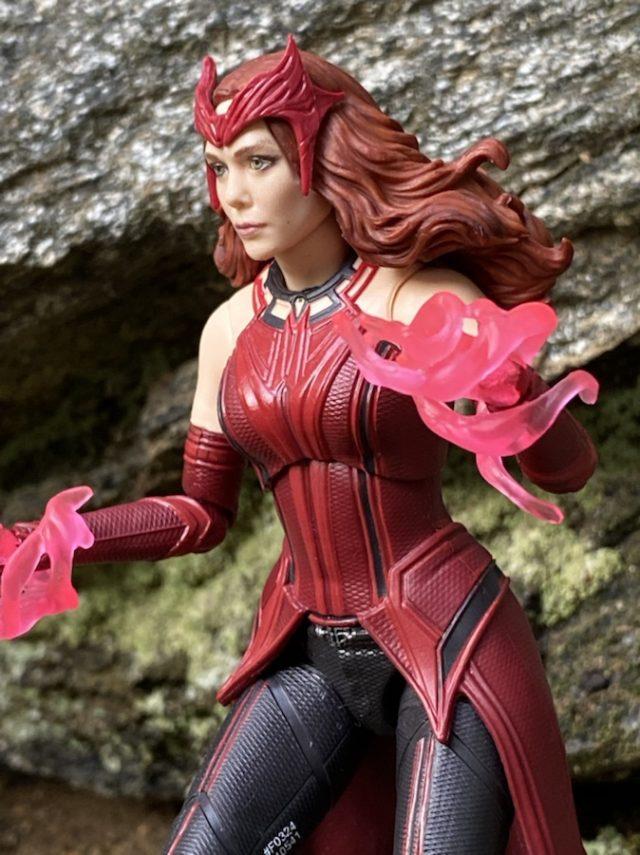 Review Marvel Legends Scarlet Witch WandaVision Figure Close-Up