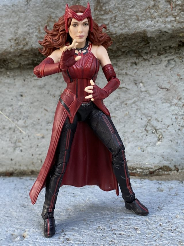 Hasbro Wanda WandaVision Figure Review 2021 Marvel Legends