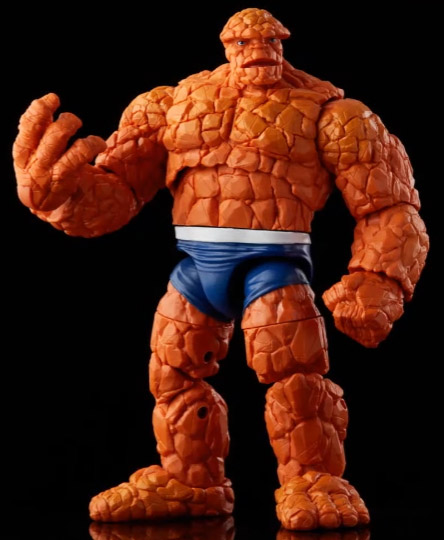2021 Marvel Legends Thing Fantastic Four Retro Series Figure Head with No Teeth
