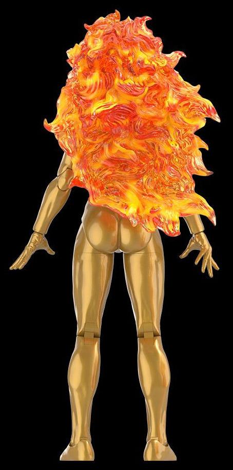 Back of Hasbro Marvel Legends Nova Frankie Raye Figure HasLab Galactus Herald