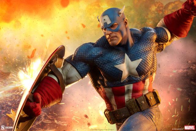 Captain America Sideshow Premium Format Figure 2021