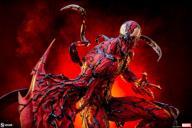 Carnage Premium Format Figure Statue Sideshow 2021
