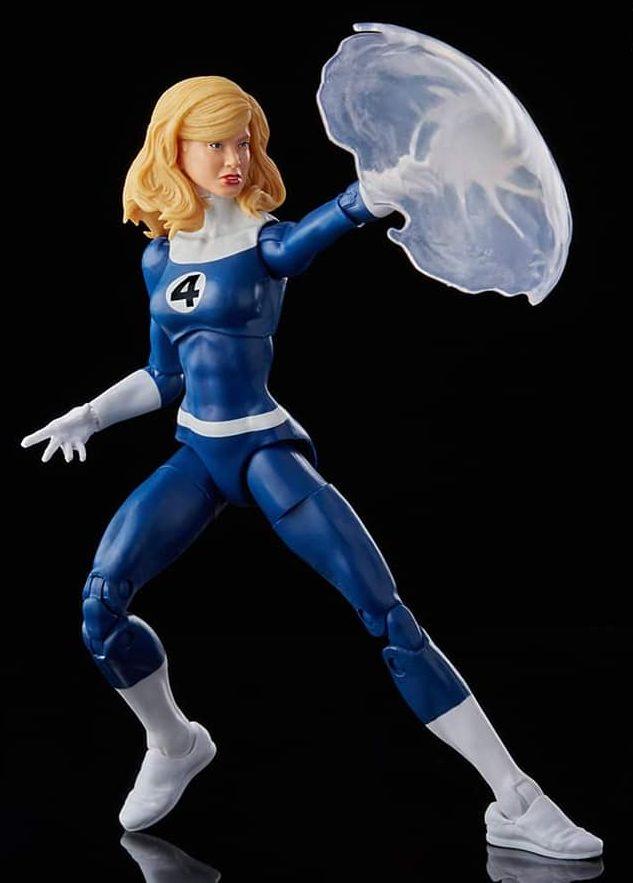 Fantastic Four Marvel Legends Invisible Woman Sue Storm Retro 2021 Figure