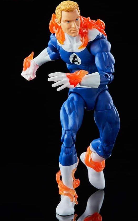 Hasbro Pulse Exclusive Johnny Storm Marvel Legends Figure