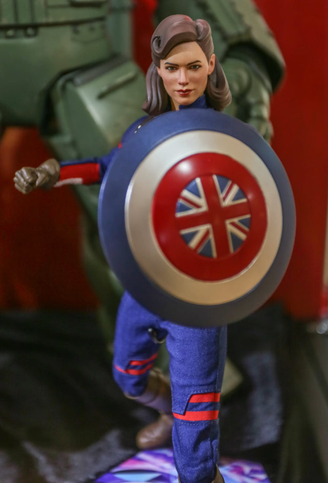 Hot Toys Peggy Carter Captain What If Figure Summer Showcase 2021