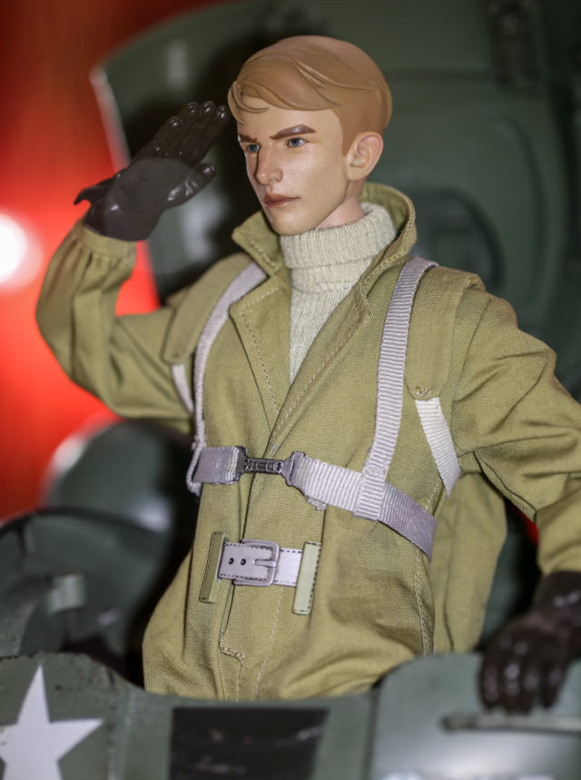 Hot Toys What If Steve Rogers Figure in Hydra Stomper Armor