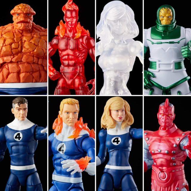 Marvel Legends Fantastic Four Retro Series Figures and Exclusives