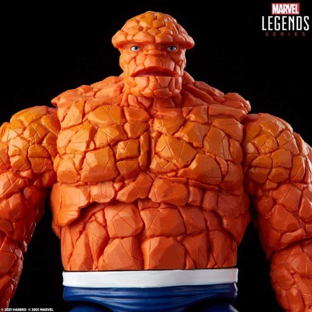 Marvel Legends Thing No Teeth Head Sculpt Fantastic 4 Retro Series Figure