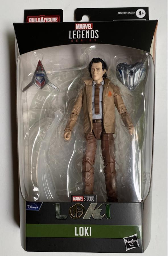 Marvel Legends Disney+ Loki Figure Packaged