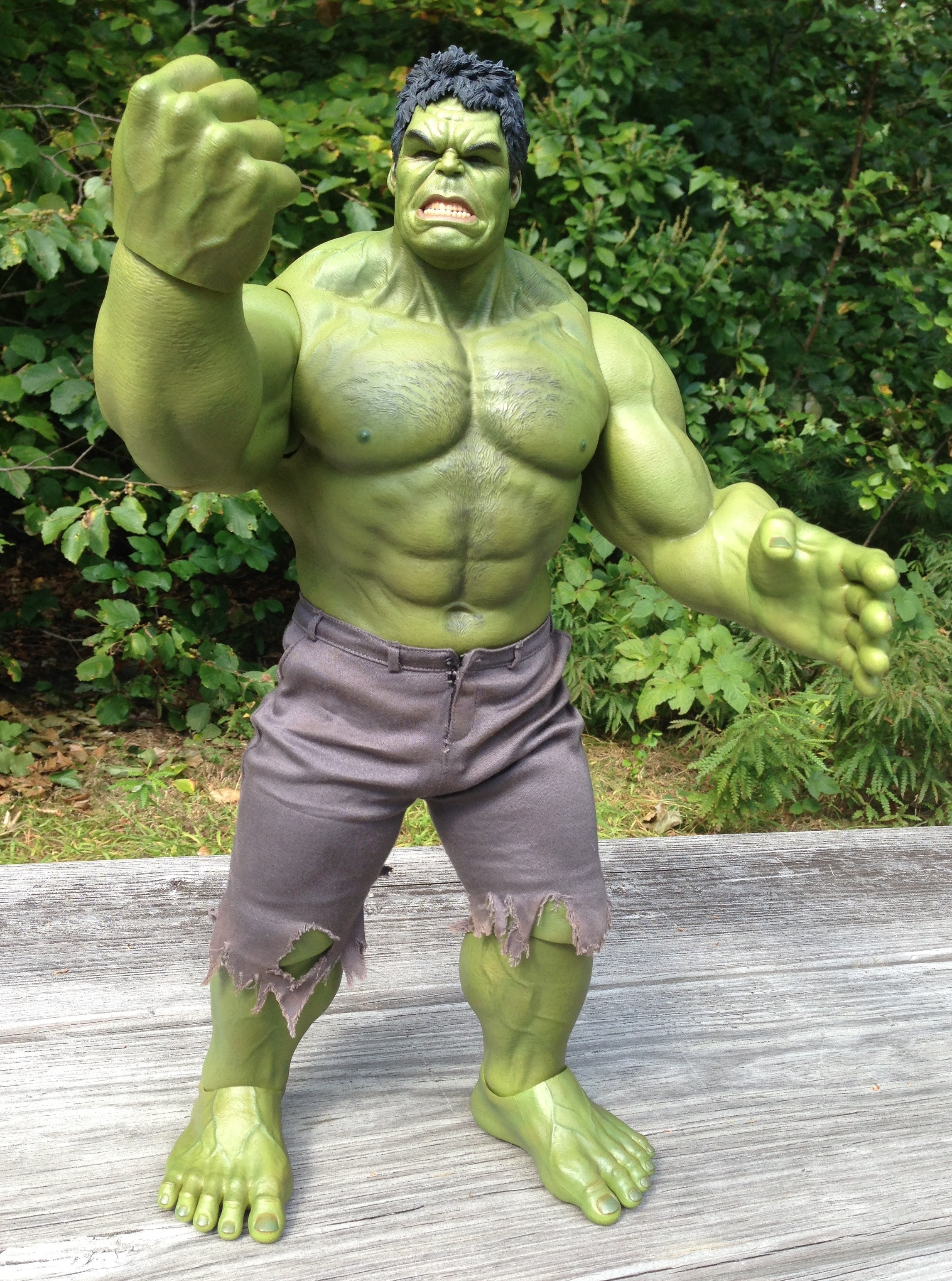 Hot Toys Hulk Review Avengers 16 Scale Figure Mms 186 Marvel Toy News 1 6 Movie Masterpiece Series