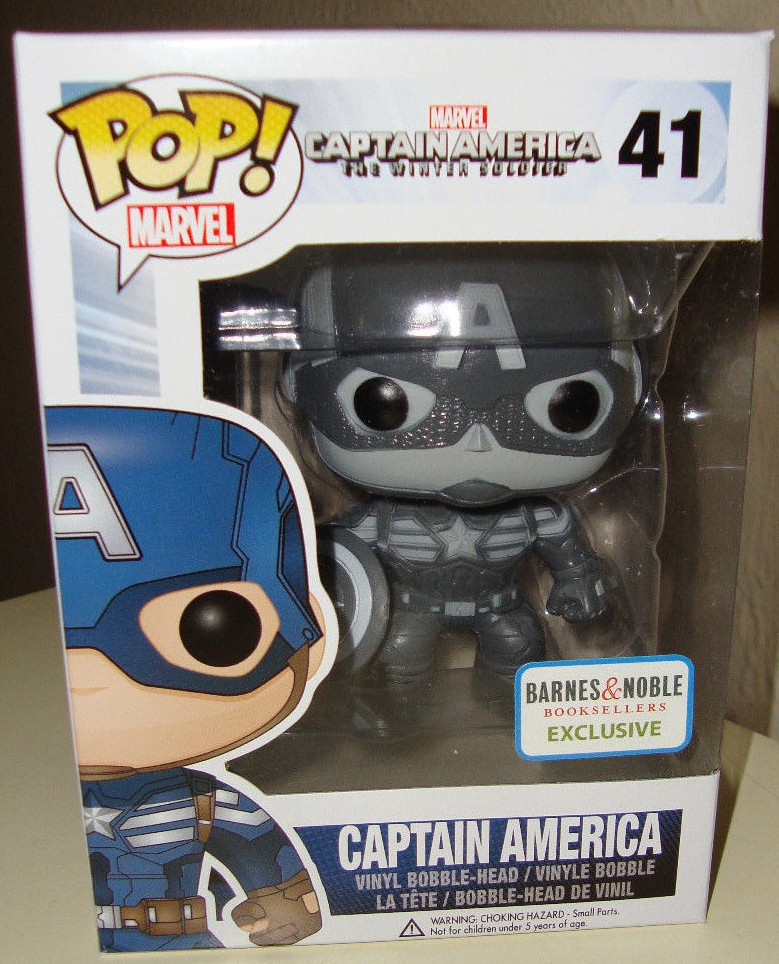 Funko Captain America Winter Soldier Black Amp White