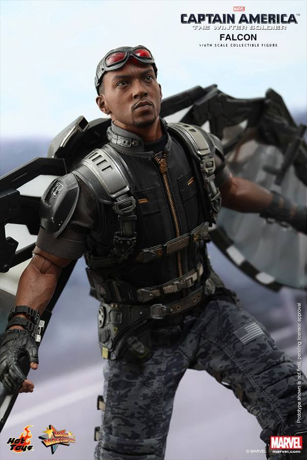 Hot Toys Falcon Figure Fully Revealed Photos Amp Order Info