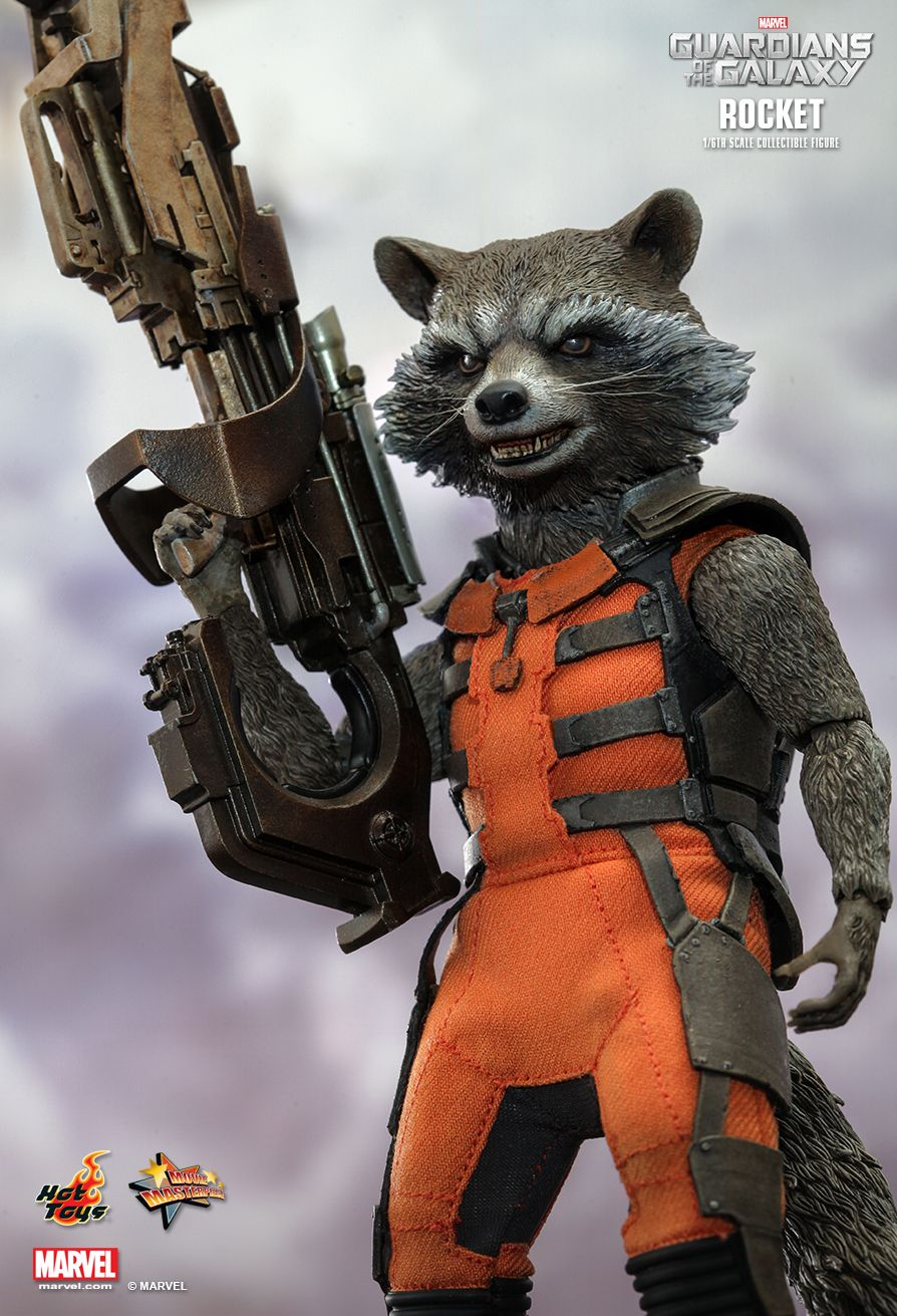 Hot Toys Rocket Raccoon Figures Photos Amp Up For Order