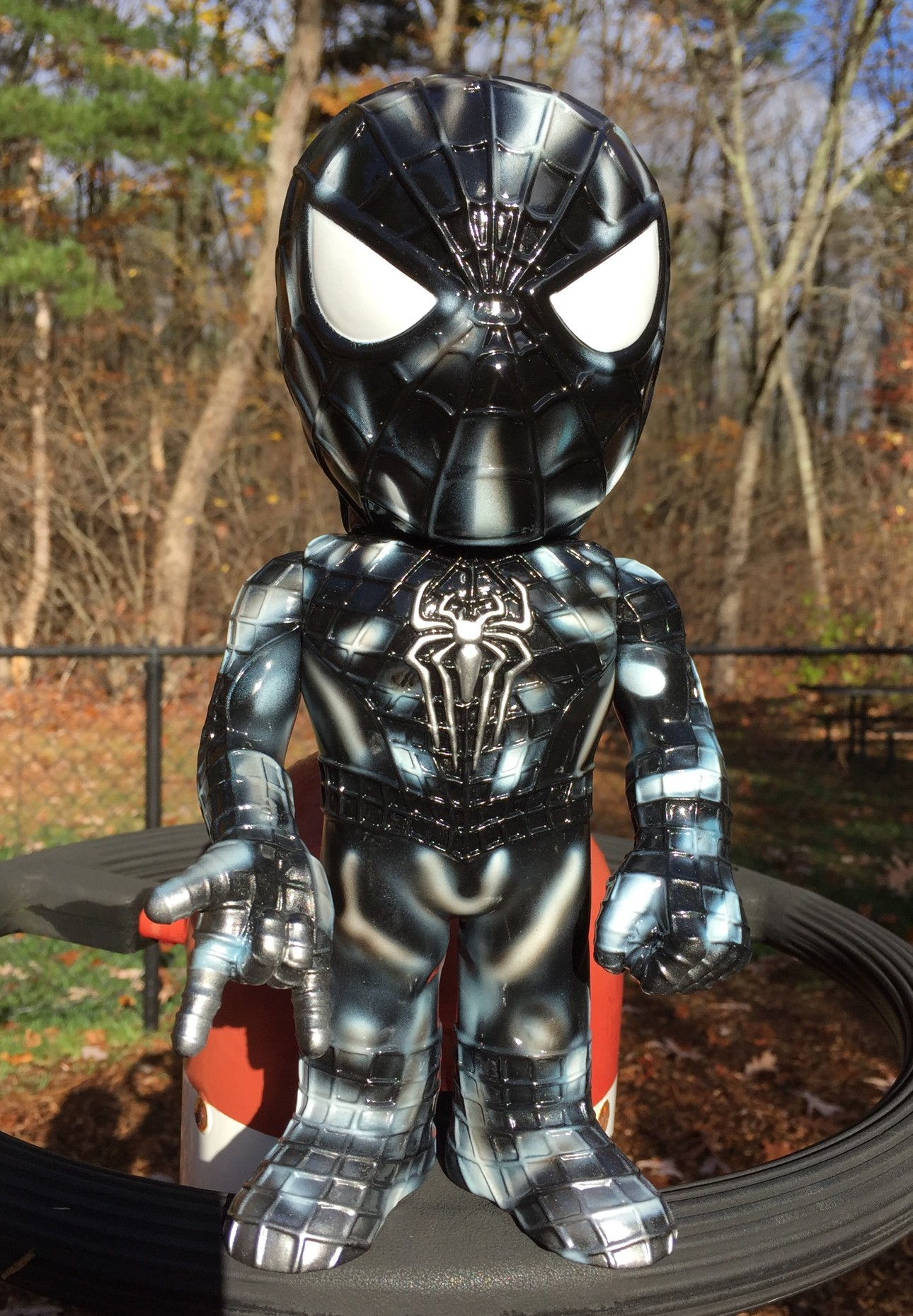 Funko Dangerous Spider Man Hikari Vinyl Figure Review