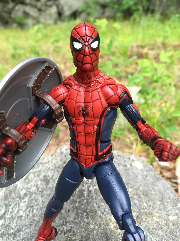 Civil War Marvel Legends Spider Man Review Photos Marvel Toy News