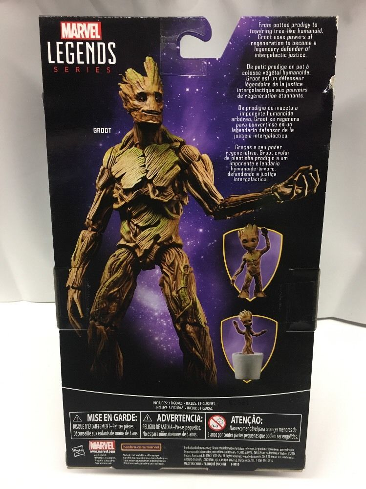 Toys R Us Exclusive 2017 Marvel Legends Groot Evolution ...
