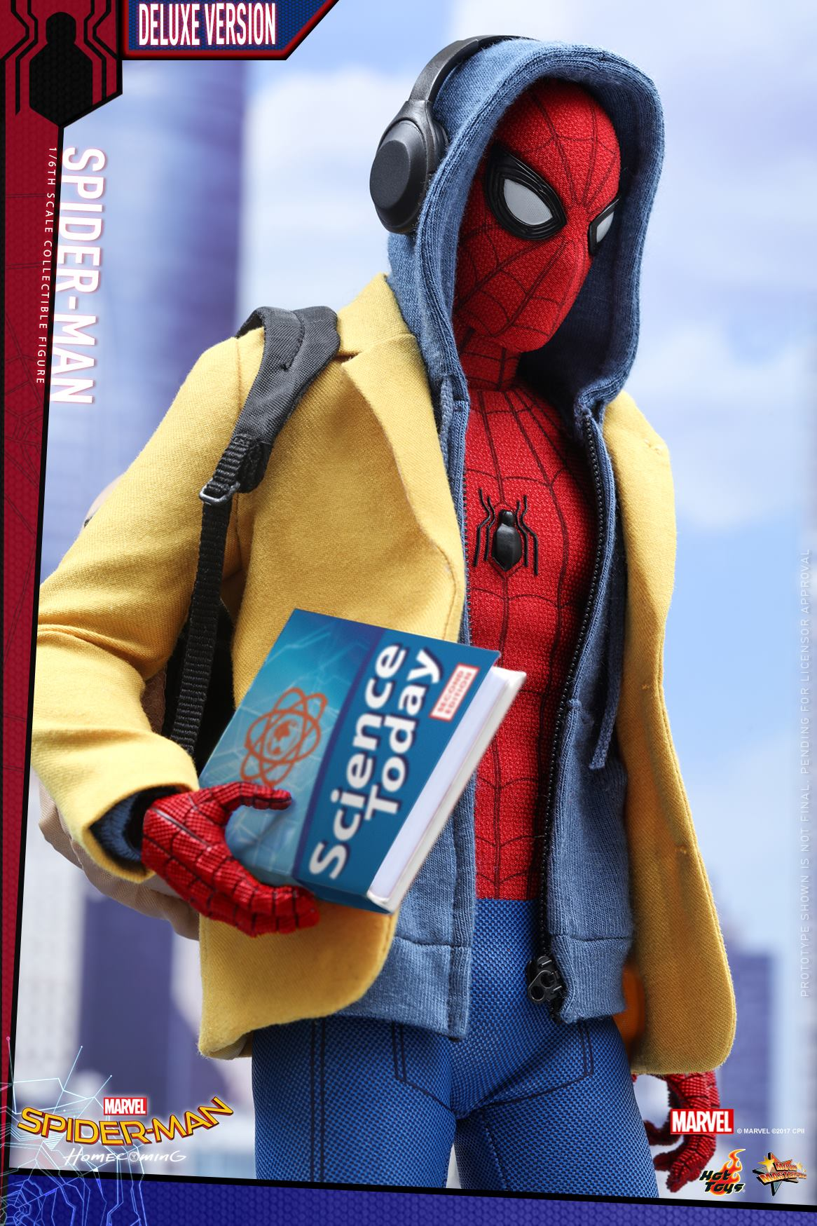 Hot Toys Homecoming Spider-Man Deluxe 1/6 Figure Up for
