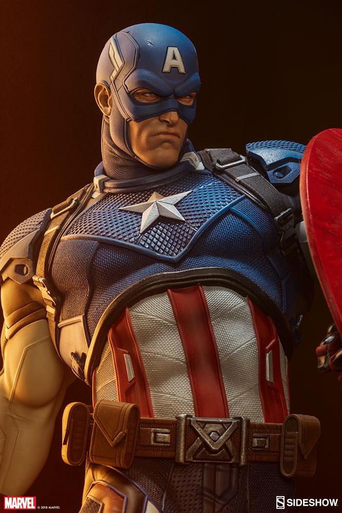 Sideshow Premium Format Captain America Ex Statue Pre