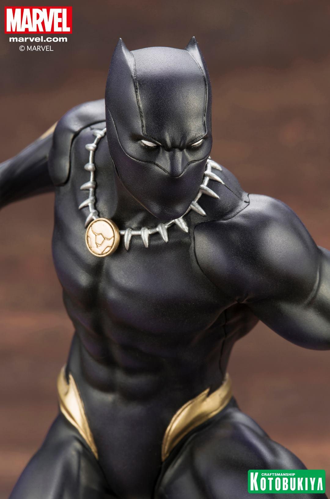Kotobukiya Black Panther Artfx Statue Up For Order
