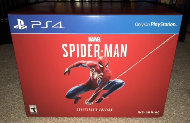 Spider Man PS4 Collector's Edition Unboxing Review