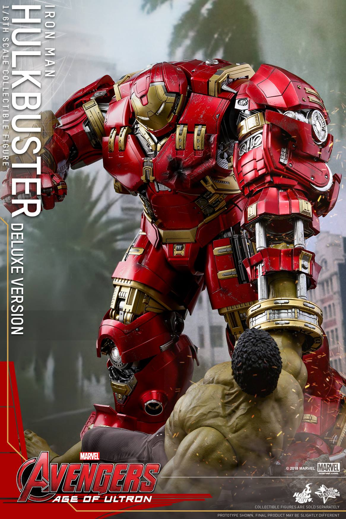 Deluxe Hot Toys Hulkbuster Iron Man Reissue Amp Accessories